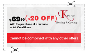 $20 Furnace cleaning coupon